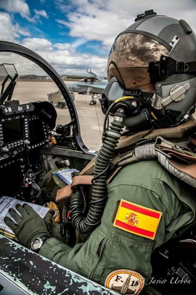 Piloto de F-18