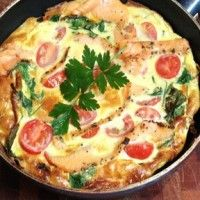 Claire Turnbull's Health Kick Omelette with Regal Salmon