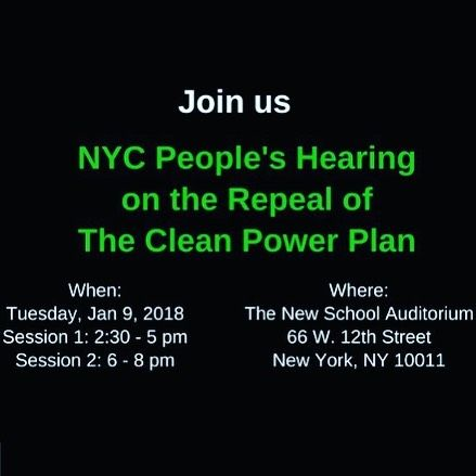Register to attend at ag.ny.gov/CPPHearing #cleanpowerplan #cleanenergy #renewableenergy