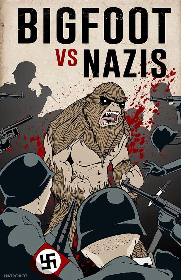 "Bigfoot News | Bigfoot Lunch Club: TRUE STORY: Utah Govt Provides Almost $100k for ""Bigfoot vs. Nazis"" Movie"