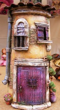 Love these little houses...
