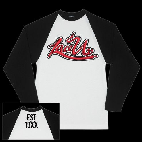 MGK Lace Up Baseball Raglan T-Shirt