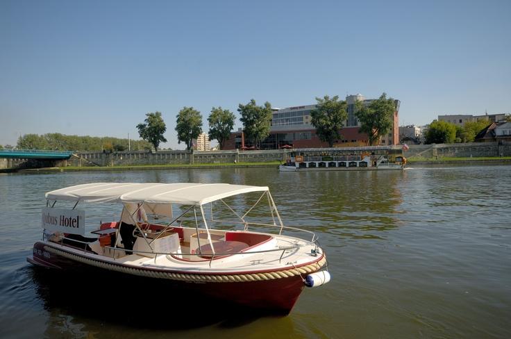 Vistula river in Krakow