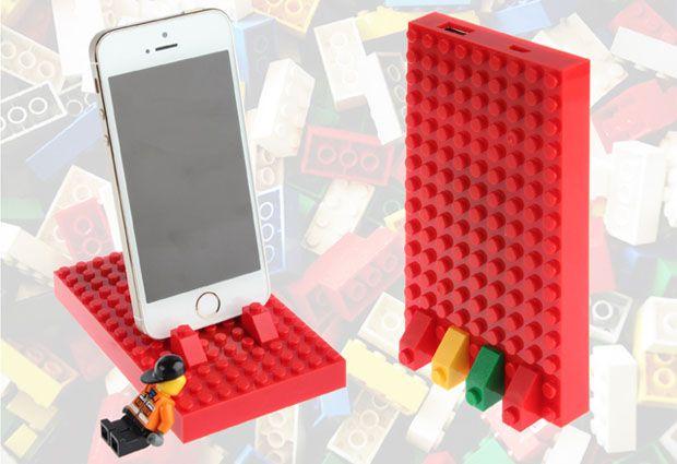 LEGOブロック製のモバイルバッテリー発売、縦置き/横置き自由に組み立て - Engadget Japanese