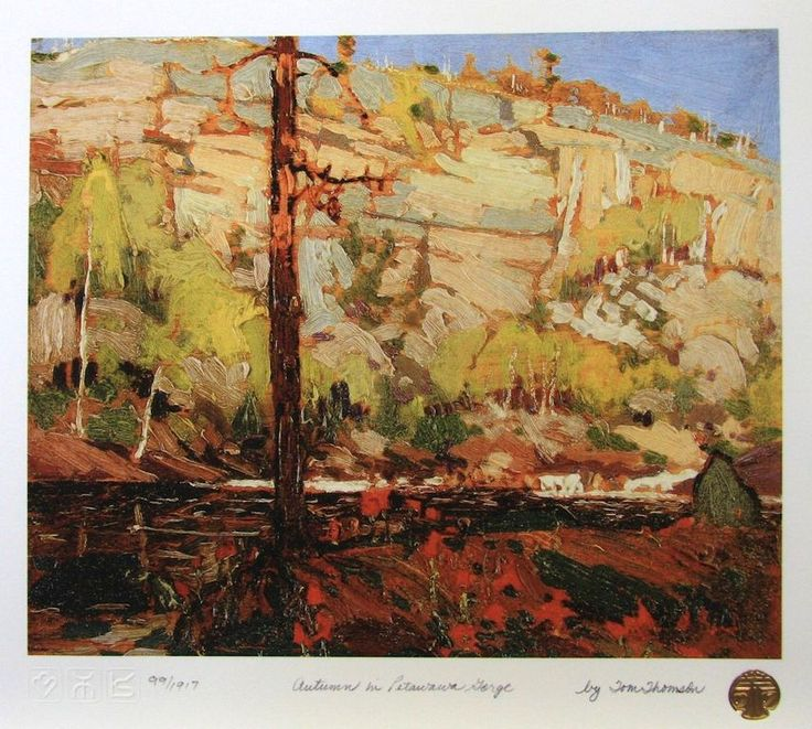 Tom Thomson Autumn in POetawawa Gorge