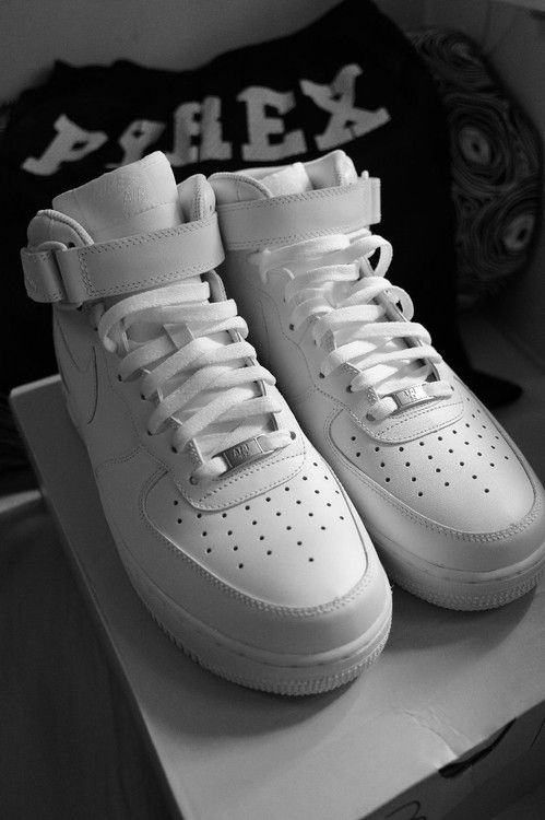 Nike Air Force 1 High White Tumblr