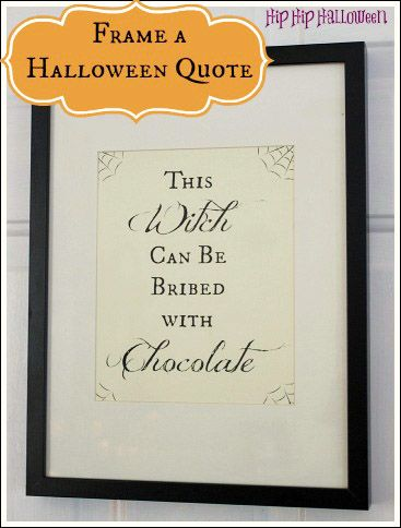 Halloween Sayings and Quotes - Funny Halloween Quotes - FREE downloadable quote!