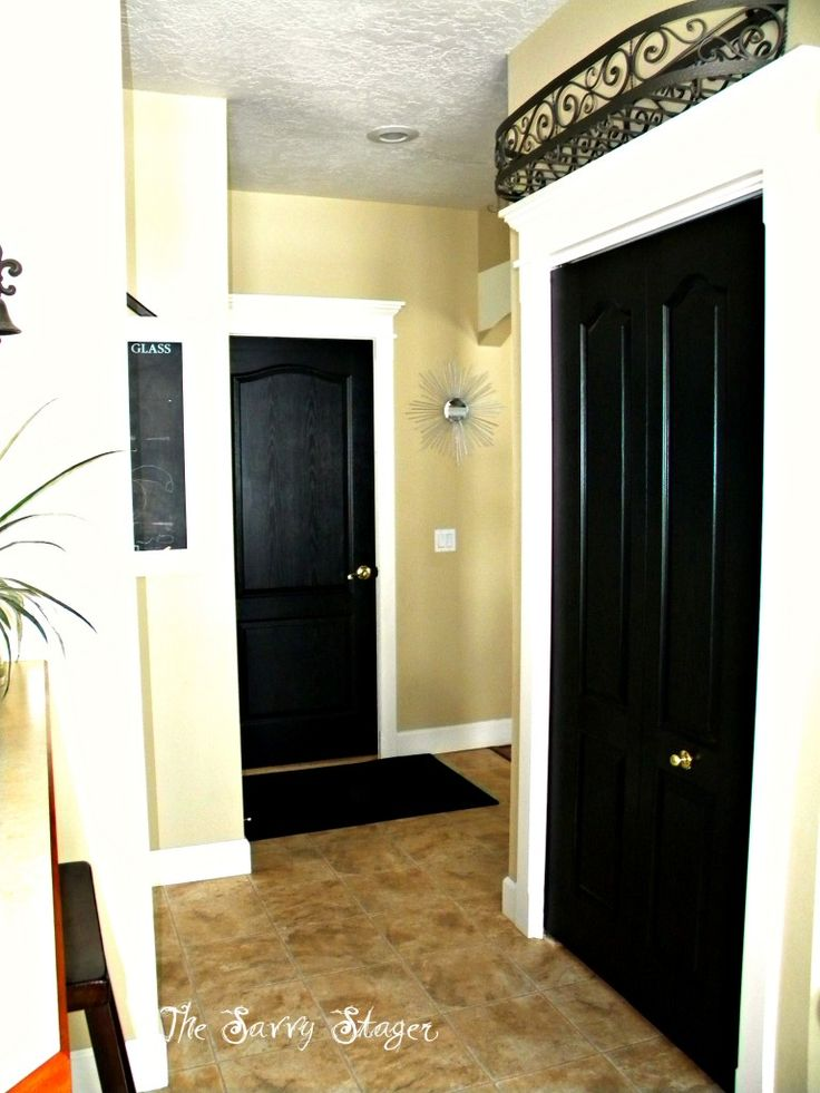 White Trim Black Doors 203krehabnow Com For 203k