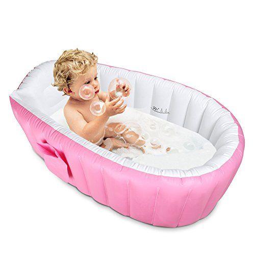 Inflatable Baby Bathtub Topist Portable Mini Air Swimming Pool Kid
