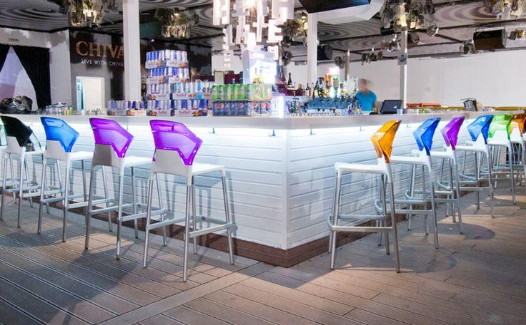 Papatya Bar Stool