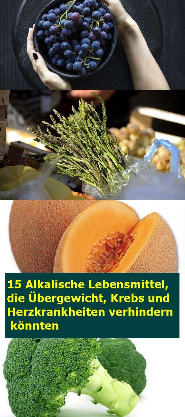 15 Alkalische Lebensmittel, die Übergewicht, Krebs und Herzkrankheiten verhinde…