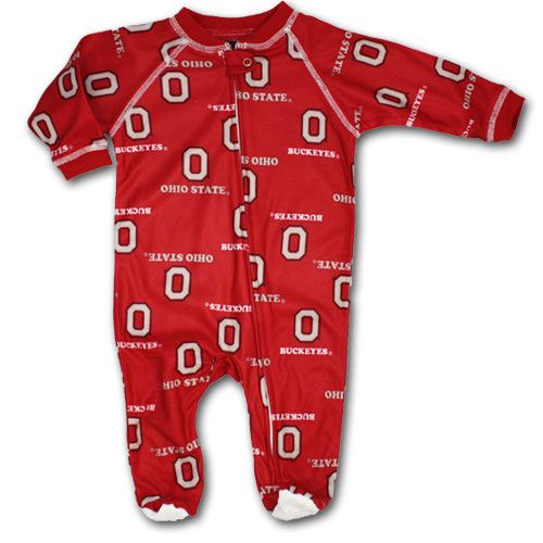 Ohio State Baby Sleeper