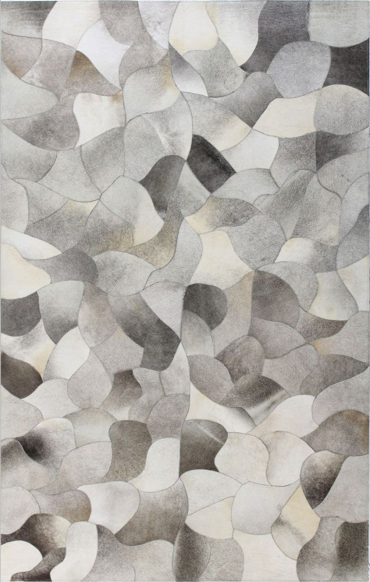 modern patch cowhide rug by bashian rugs at gilt gray rugs gray area