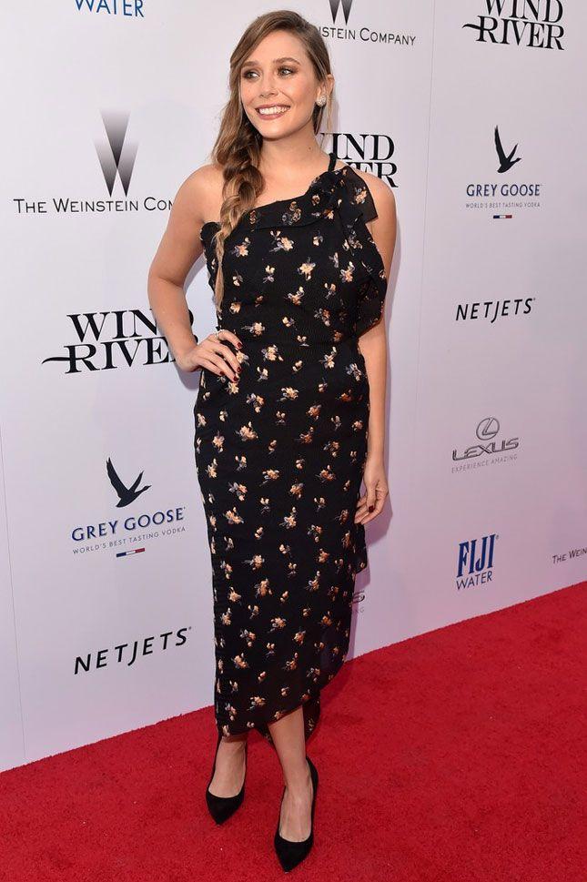 Элизабет Олсен на премьере фильма «Ветреная река» в Лос-Анджелесе
