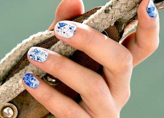 zlato.oriflame: брызги цвета на ногтях