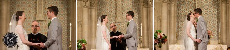 wedding ceremony at Universalist National Memorial Church