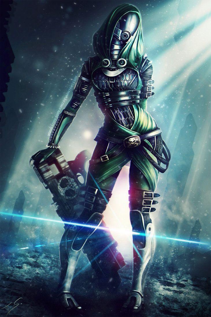 S H A L A - Mass Effect OC by Eddy-Shinjuku on deviantART