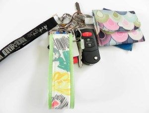 Easy Key Fob Tutorial from The Little Bird Designs