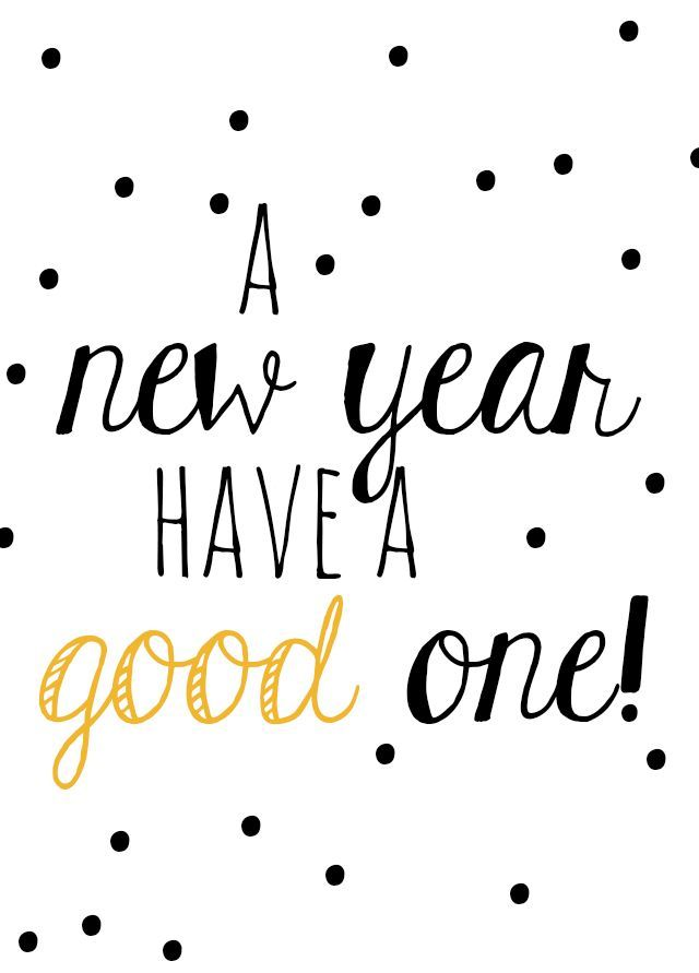 A new year! (via Bloglovin.com )