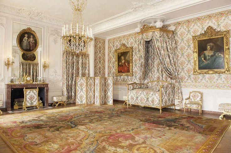 Chambre de Madame Adélaïde au château de Versailles