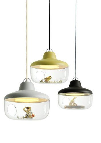 Lamp where you can store your favorite things