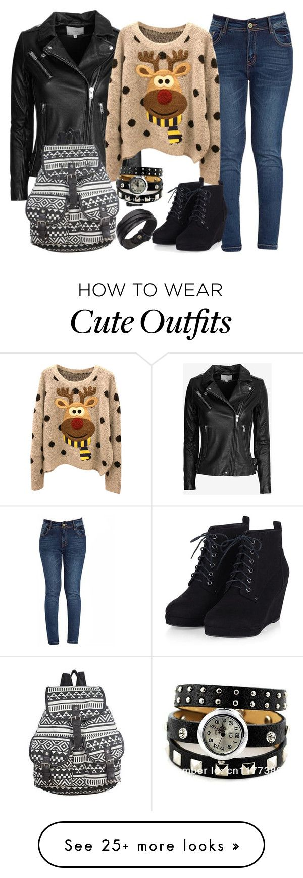 """""""School Cute Outfit"""" by myfriendshop on Polyvore featuring IRO, women's clothing, women's fashion, women, female, woman, misses and juniors"""