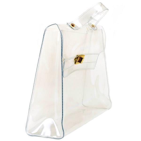 BIBI BAG ,un unico modello di borsa in pvc, disponibile in quattro varianti colore,nera ,trasparente,fuxia e verde.