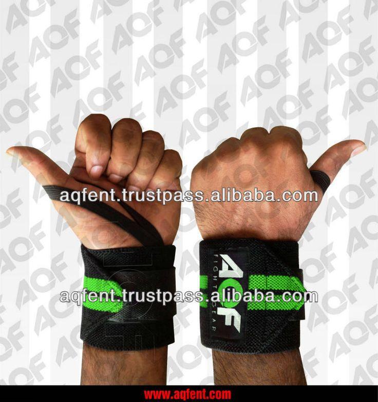 #gym wrist wraps, #custom wrist wraps, #AQF Weight Lifting Wrist Wraps Bandage Hand Suppor