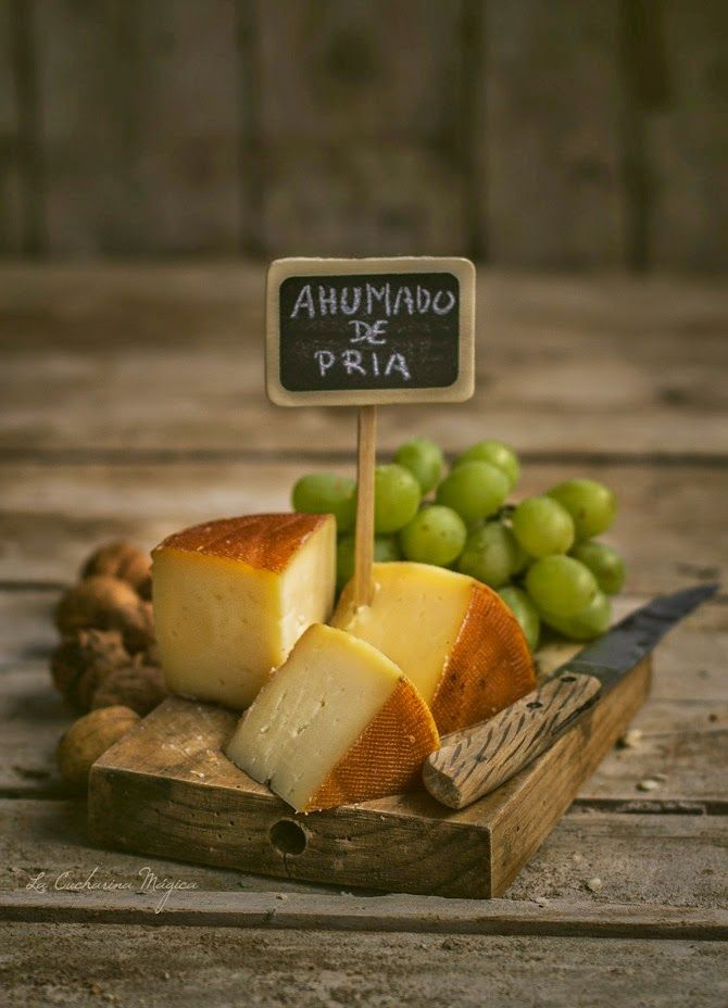 Cheese from Asturias Queso ahumado de Pria(Llanes)