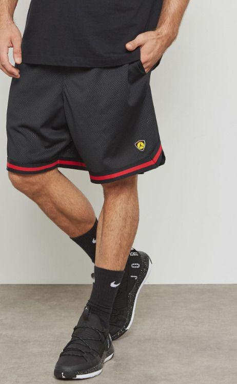 5bbc16f4f0df9c NIKE Men s Jordan Last Shot Mesh Shorts NEW AQ0624 010 Black Medium  Nike   Athletic