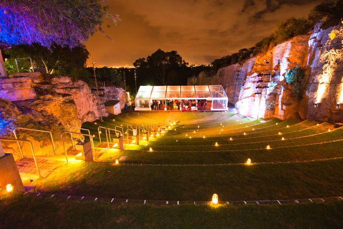 The Quarry Amphiteatre Perth #wedding#venue#