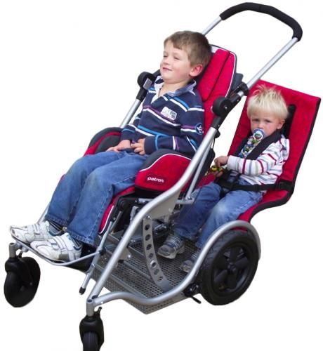 Tandem Buggy Special Needs Stroller With Room For A