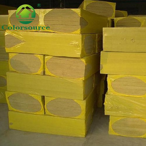 Rock wool fireproof insulation for the roof