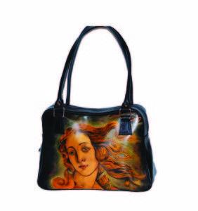 Ručne maľovaná kabelka 8581 inšpirovaná motívom Sandro Botticelli