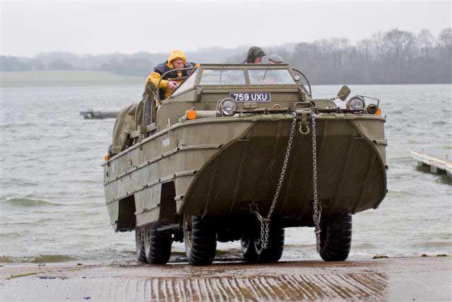 Military Vehicles | DUKW Amphibious Military Vehicle