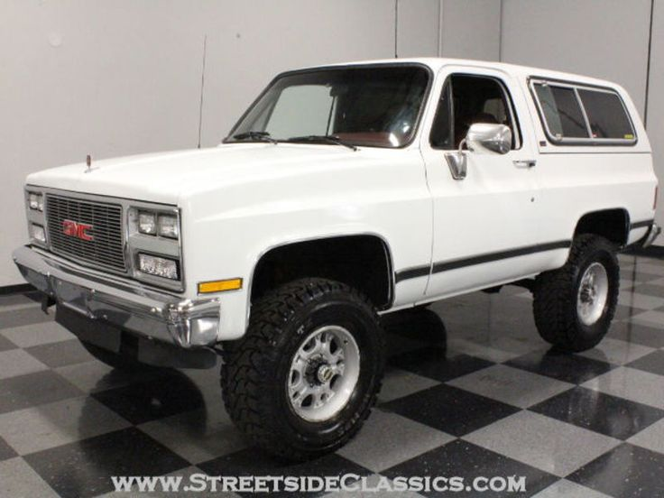 1989 Gmc Jimmy for sale - Lithia Springs, GA | OldCarOnline.com Classifieds