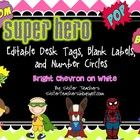 his file contains 18 different desk tags, 18 different labels, and 36 number circles. The desk tags and labels are editable and have adorable super...