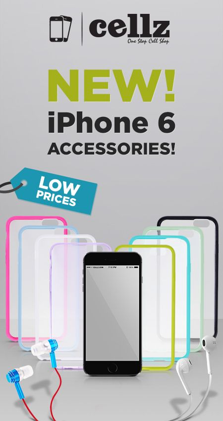 The long wait is over! The new iPhone 6 Cases are here! #iphone6cases #cellz #iphonecase #covers #cases #popular #bestdeals