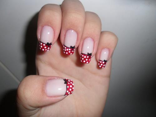 polka dot bows