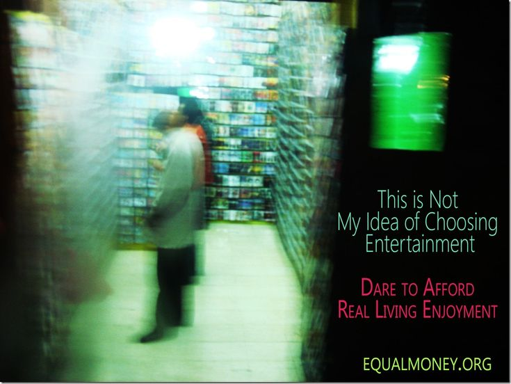 Day 191: Entertainment and Equal Money Capitalism ~ Economist's Journey to Life