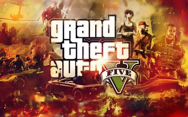Game Grand Thef Auto 5 Wallpaper 2013 HD
