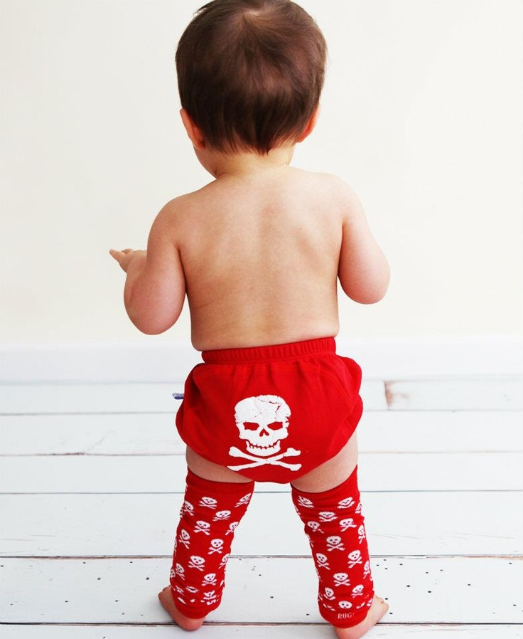 The perfect wardrobe basic for you little guy, these bloomers will show off his tough side  $20