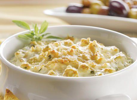 Warm Artichoke & Parmesan Dip