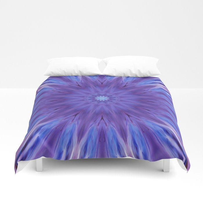 Buy Unique mandala ultra violet Duvet Cover by haroulita. Worldwide shipping available at Society6.com. Just one of millions of high quality products available. #ultraviolet #pantone