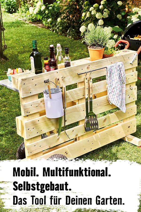 DIY Grillwagen selber bauen