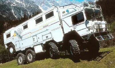 8x8 expedition truck! My problem, I need a vehicle to accommodate ...