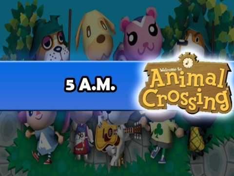 Animal Crossing 5 AM