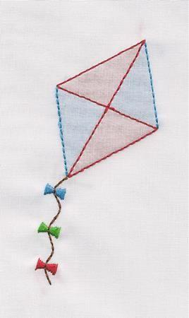 Shadow Work & Embroidery :: Shadow Kite Machine Shadow Work