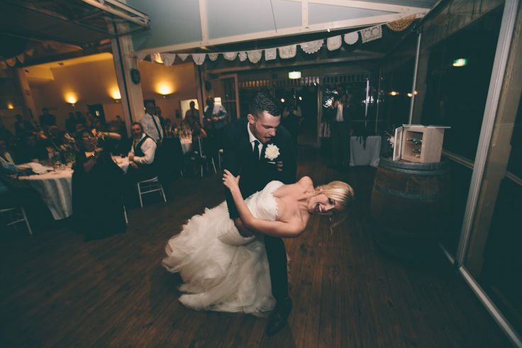 Bold moves on the dance floor by the bride and groom at Wandin Valley Estate | PHOTO CREDIT: Tim Pascoe Photography