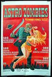 Astro Zombies, US one-sheet, 1971 re-release.